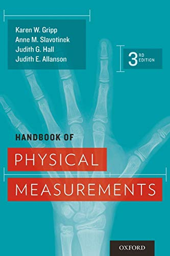 Handbook of Physical Measurements (Oxford Handbook Series)