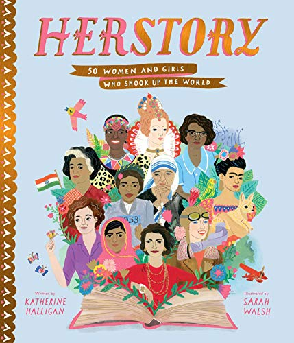 Herstory: 50 Women and Girls Who Shook Up the World von Simon & Schuster Books for Young Readers