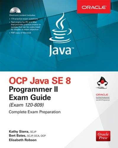 OCP Java SE 8 Programmer II Exam Guide (Exam 1Z0-809) von McGraw-Hill Education