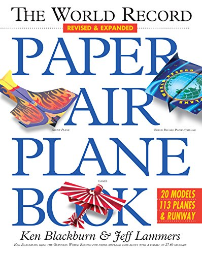 World Record Paper Airplane Book (Paper Airplanes) von Workman Publishing