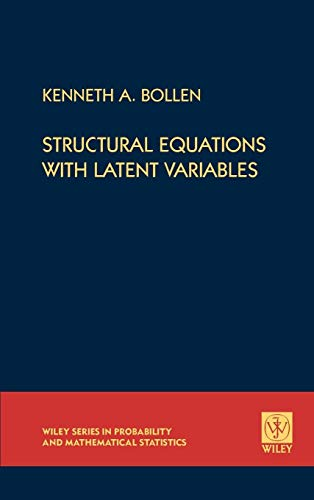 Structural Equations (Wiley Series in Probability and Statistics) von John Wiley & Sons