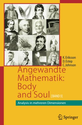 Angewandte Mathematik: Body and Soul: Band 3: Analysis in mehreren Dimensionen von Springer Spektrum