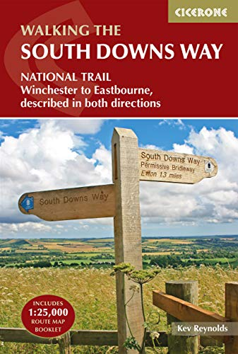 The South Downs Way: NATIONAL TRAIL Describded East-West and West-East (British Long Distance)
