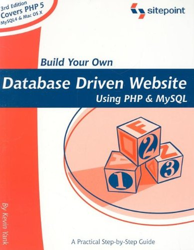 Build Your Own Database Driven Website Using PHP & MySQL von SITE POINT