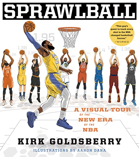 SprawlBall: A Visual Tour of the New Era of the NBA von Houghton Mifflin Harcourt