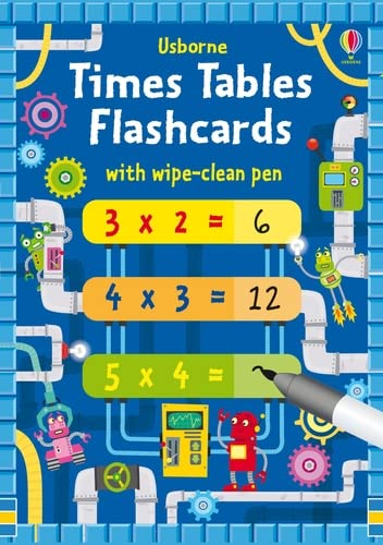 Times Tables Flash Cards von Usborne Publishing Ltd