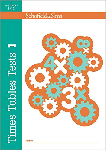 Times Tables Tests Book 1