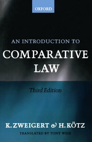 An Introduction To Comparative Law von Oxford University Press