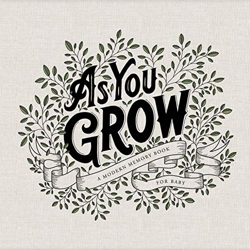 As You Grow: A Modern Memory Book for Baby von PAIGE TATE SELECT