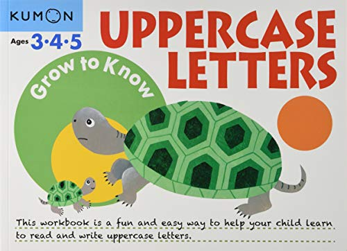 Uppercase Letters Ages 3-5 (Grow to Know) von KUMON PUB NORTH AMER LTD