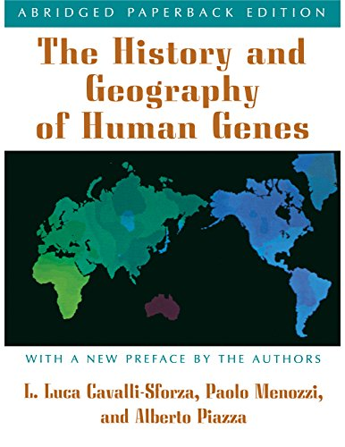 The History and Geography of Human Genes: (Abridged Paperback Edition) von Princeton University Press