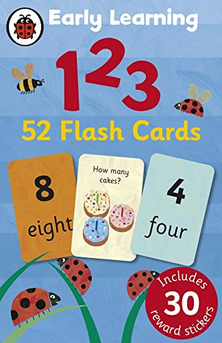 Ladybird Early Learning: 123 flash cards von Ladybird