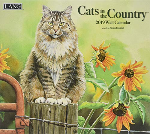 Cats In The Country 2019 Deluxe Wall Calendar von LANG CALENDARS