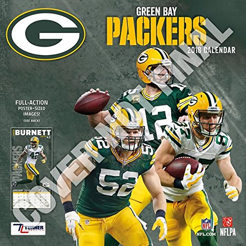 Green Bay Packers 2019 12x12 Team Wall Calendar von TURNER LICENSING