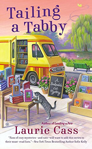 Tailing a Tabby (A Bookmobile Cat Mystery, Band 2) von Berkley