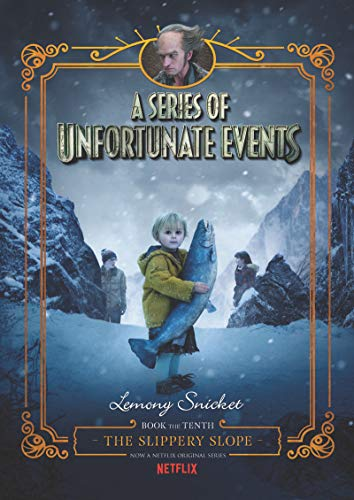 A Series of Unfortunate Events #10: The Slippery Slope Netflix Tie-in von HarperCollins