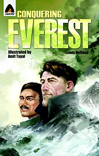 Conquering Everest: The Lives of Edmund Hillary and Tenzing Norgay: A Graphic Novel (Campfire Graphic Novels) von Campfire