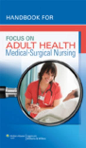 Handbook for Focus on Adult Health von Lippincott Williams & Wilkins