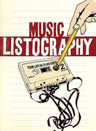 Music Listography Journal von Chronicle Books