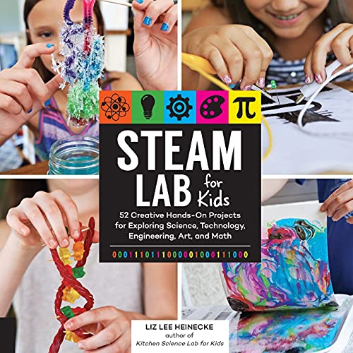 Heinecke, L:  STEAM Lab for Kids (Lab Series for Kids, Band 17) von Quarry Books