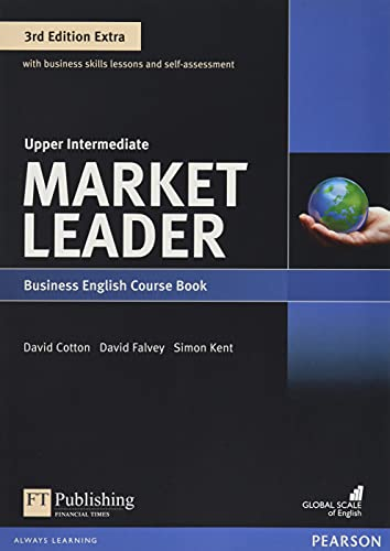 Market Leader Extra Upper Intermediate Coursebook with DVD-ROM Pack von Pearson Education