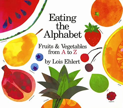 Eating the Alphabet: Fruits & Vegetables from A to Z (Voyager Books) von Sandpiper
