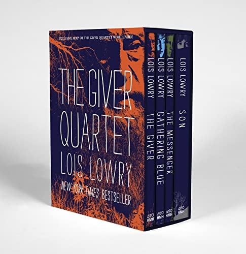 The Giver Quartet boxed set von Houghton Mifflin Harcourt
