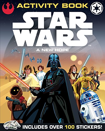 Star Wars: A New Hope: Activity Book: With Sticker Scene (Star Wars Activity)