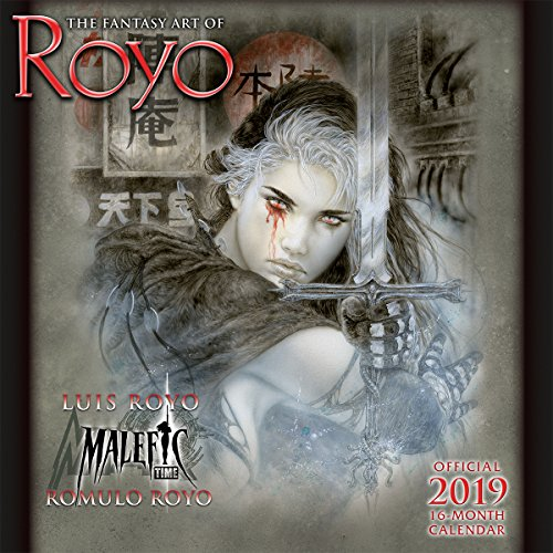 2019 the Fantasy Art of Royo 16-Month Wall Calendar: By Sellers Publishing von SELLERS PUB INC