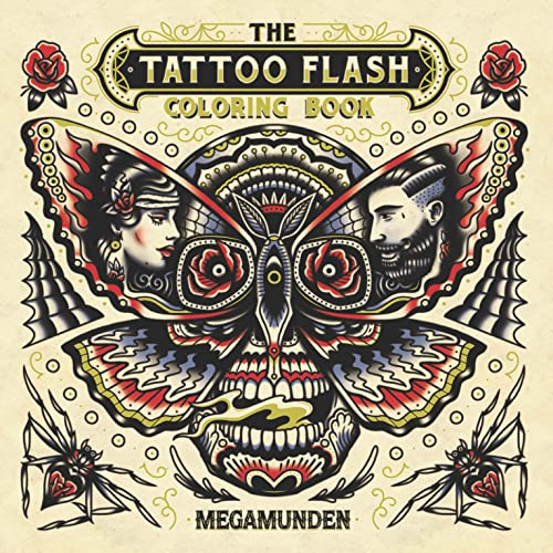 The Tattoo Flash Colouring Book (Colouring Books) von Laurence King Verlag GmbH