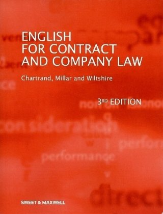 English for Contract & Company Law von Sweet & Maxwell Ltd