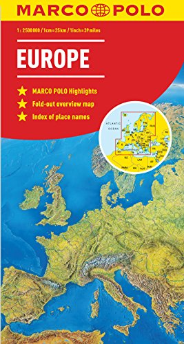 Marco Polo Europe (Marco Polo Maps) von MAIRDUMONT GmbH & Co. KG