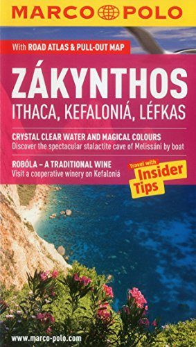 Marco Polo Zakynthos Ithaca, Kefalonia, Lefkas: Greece, With Road Atlas & Pull Out Map (Marco Polo Zakynthos (Travel Guide))