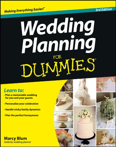 Wedding Planning For Dummies (For Dummies Series) von John Wiley & Sons Inc