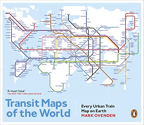Transit Maps of the World: Every Urban Train Map on Earth von Penguin