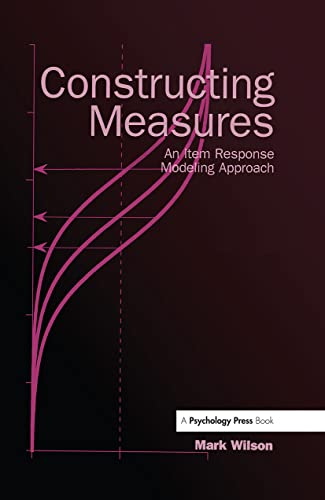 Constructing Measures: An Item Response Modeling Approach