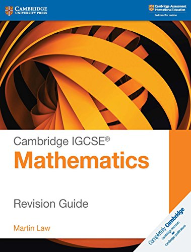 Cambridge IGCSE® Mathematics Revision Guide (Cambridge International IGCSE) von Cambridge University Pr.