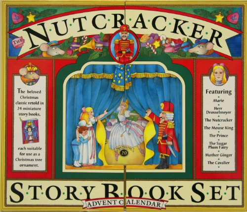 Nutcracker Advent Calendar (Story Book Set) von Workman Calendars