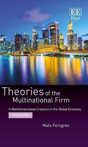 Forsgren, M:  Theories of the Multinational Firm von Edward Elgar Publishing