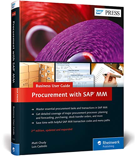 Procurement with SAP MM: Business User Guide (SAP PRESS: englisch)