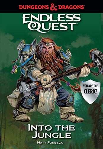 Dungeons & Dragons: Into the Jungle: An Endless Quest Book von Candlewick Entertainment