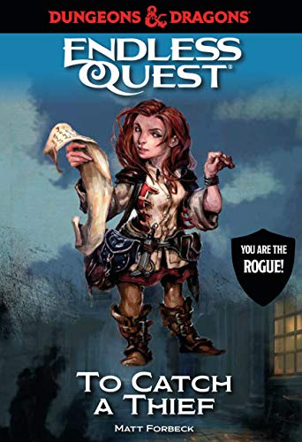 Dungeons & Dragons: To Catch a Thief: An Endless Quest Book von Candlewick Entertainment