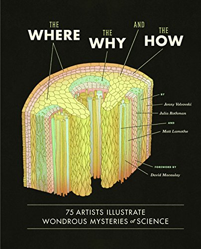 Where, the Why, and the How : 75 Artists Illustrate Wondrous Mysteries of Science: 75 Artists Illustrate Wondrous Mysteries of Science