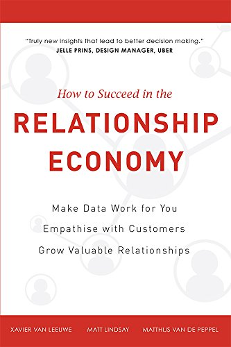 How to Succeed in the Relationship Economy: Make Data Work for You, Empathise with Customers, Grow Valuable Relationships von ADVANTAGE MEDIA GROUP