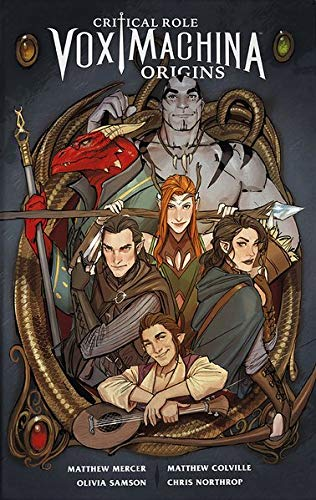 Critcal Role 1: Vox Machina Origins (Critical Role) von Cross Cult