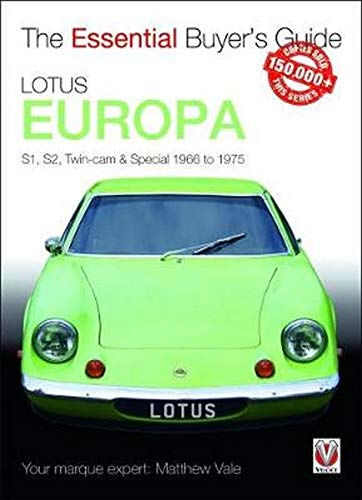 Lotus Europa (Essential Buyer's Guide) von VELOCE PUBLISHING