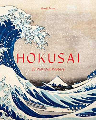 Hokusai: 22 Pull-Out Posters (Poster Books) von Prestel