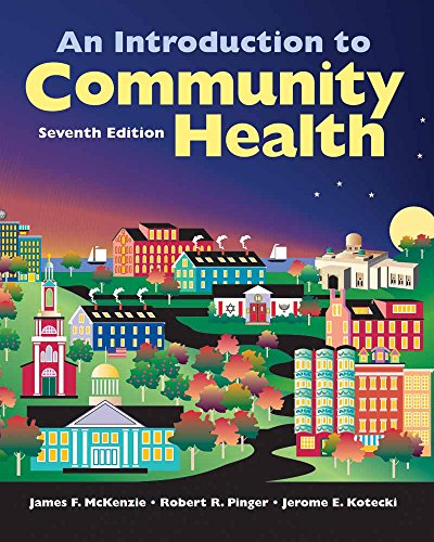 McKenzie, J: Introduction to Community Health von Jones & Bartlett Learning