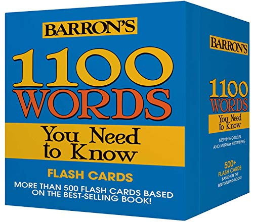1100 Words You Need to Know Flashcards von Barrons Educational Series