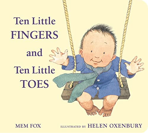 Ten Little Fingers and Ten Little Toes padded board book von HMH Books for Young Readers